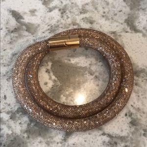 Swarovski Crystal Mesh Wrap Bracelet